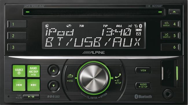 Alpine CDE-W235BT