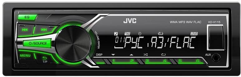 JVC KD-X115EE