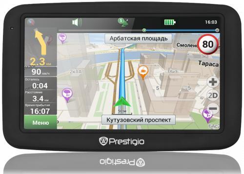 PRESTIGIO GPS GeoVision 5055