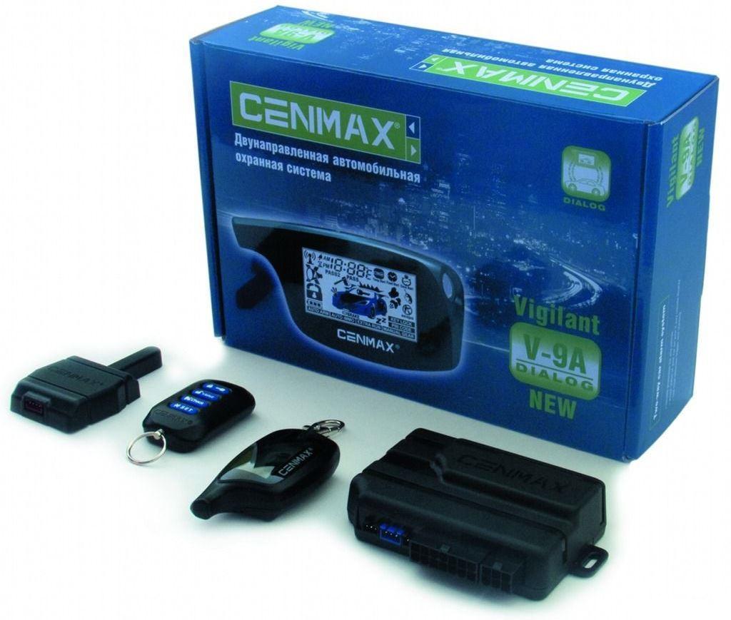 Сигнализация Cenmax Vigilant V 7A Инструкция