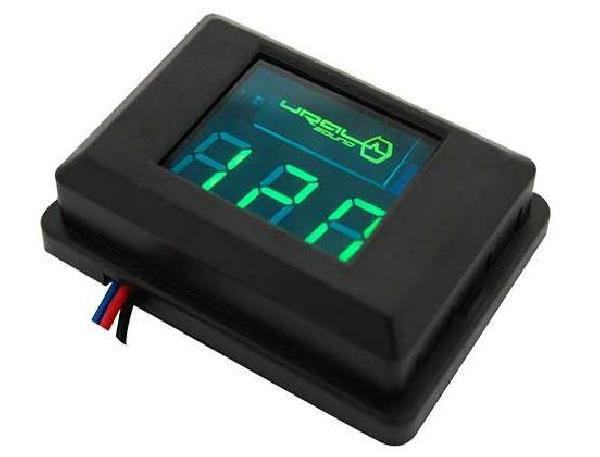 фото: URAL DB Voltmeter (зеленая подсветка)