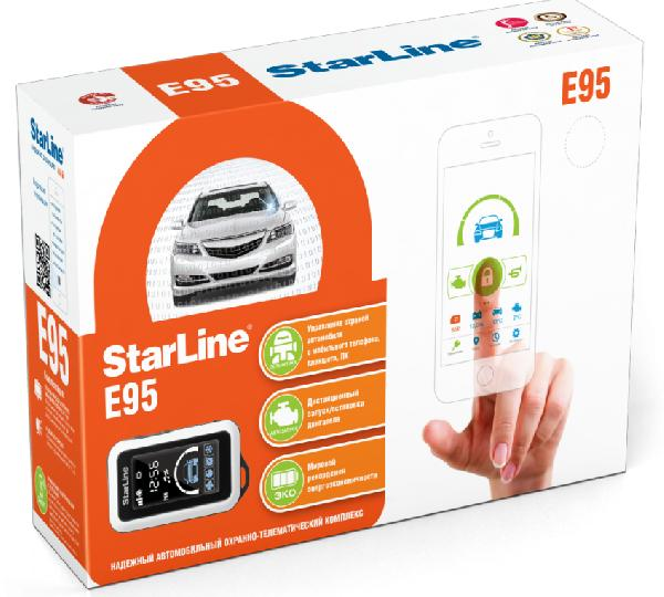 фото: StarLine E95 BT 2CAN-2LIN GSM