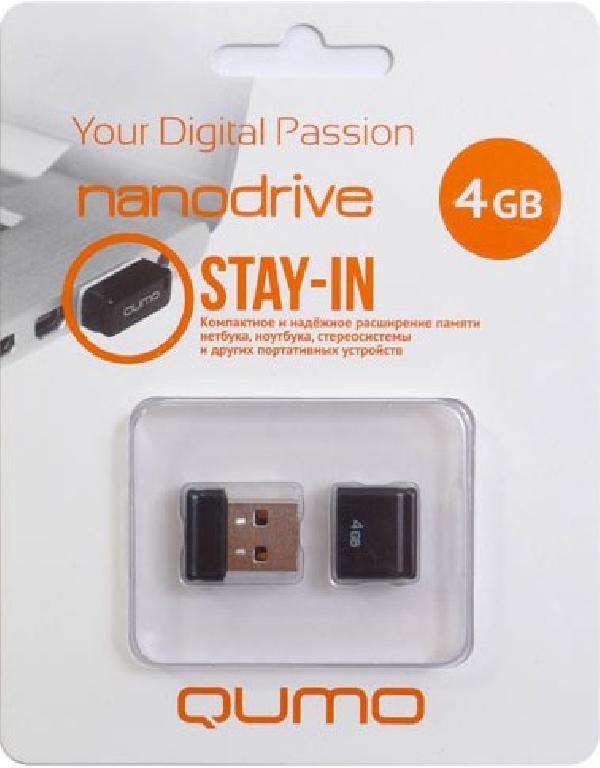Qumo Nano USB 4GB
