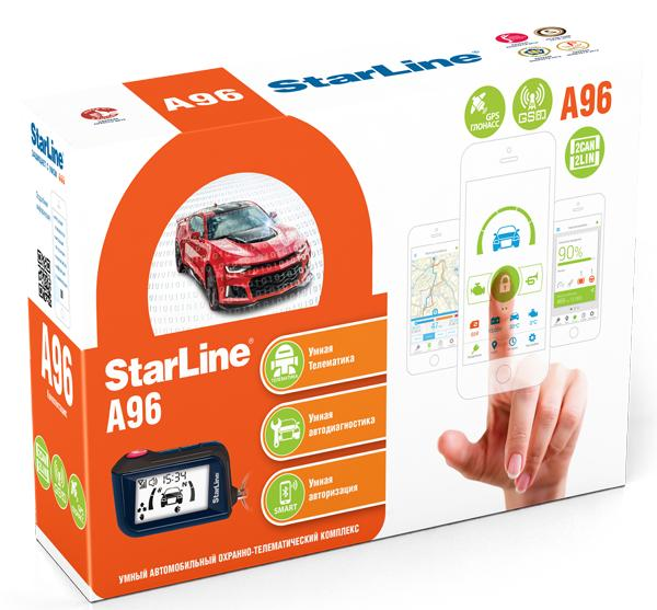 StarLine A96 2CAN-2LIN GPS/GSM